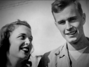 George HW and Barbara Bush