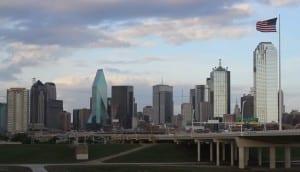 Dallas American Flag