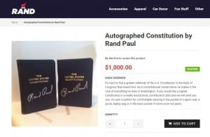 rand paul constitution