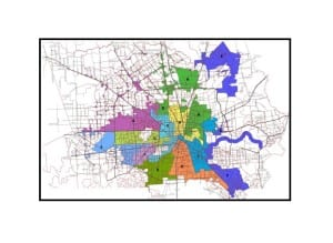 Houston City Council Map